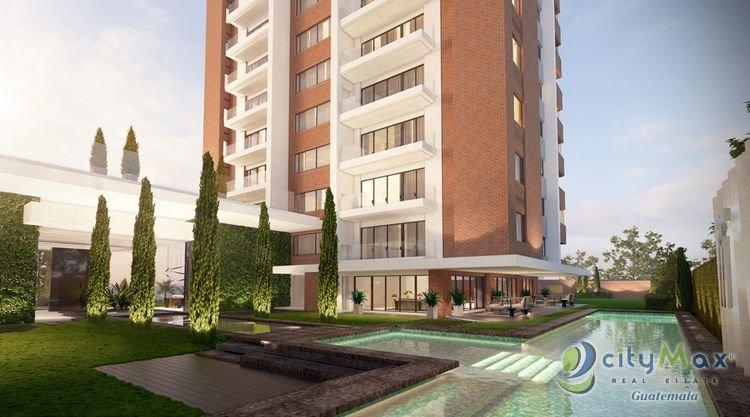 Apartamento con Amplio Jardin Venta Zona 14