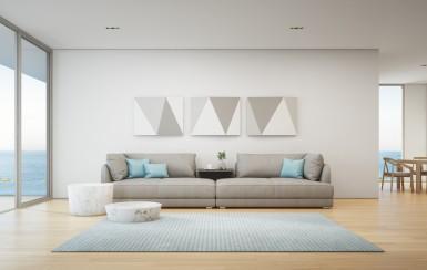 Quiero un decoración moderna para mi hogar, ¿Qué debo hacer?
